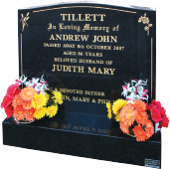 Headstone and Base